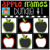 P4 RAINBOW Apple Frames Bundle #1 (P4 Clips Trioriginals)