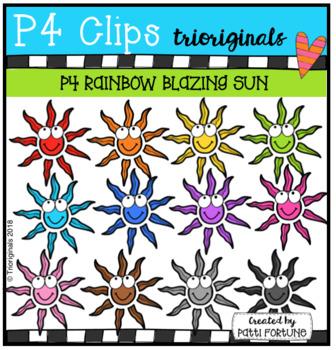 P4 RAINBOW Blazing Sun (P4 Clips Trioriginals)