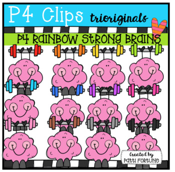 P4 RAINBOW Brain Strength (P4 Clips Trioriginals)