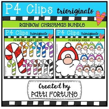 P4 RAINBOW Christmas BUNDLE #1