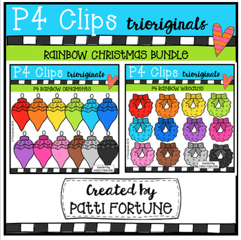 P4 RAINBOW Christmas BUNDLE #2