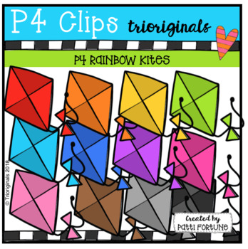P4 RAINBOW Kites (P4 Clips Trioriginals)