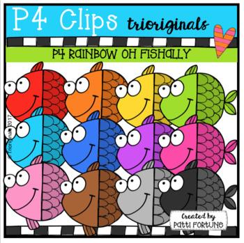 P4 RAINBOW Oh Fishally (P4 Clips Trioriginals)