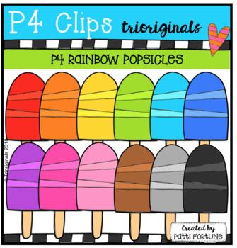 P4 RAINBOW Popsicles (P4 Clips Trioriginals)