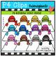 P4 RAINBOW Snow Kids BUNDLE (P4 Clips Trioriginals Clip Art)