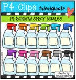 P4 RAINBOW Spray Bottles (P4 Clips Trioriginals)