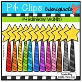 P4 RAINBOW Striped Wands (P4 Clips Trioriginals)