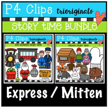 P4 STORY TIME BUNDLE Express / Mitten (P4 Clips Trioriginals)