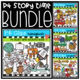 P4 STORY TIME  Bundle (P4 Clips Trioriginals)