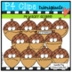 P4 SUPER SET Acorns and Squirrels ( P4 Clips Trioriginals Clip Art)