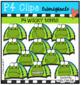 P4 SUPER SET Camping Fun (P4 Clips Trioriginals Clip Art)