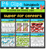 P4 SUPER SET Dental Care (P4 Clips Trioriginals Clip Art)