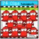 P4 SUPER SET Fire (P4 Clips Trioriginals Clip Art)