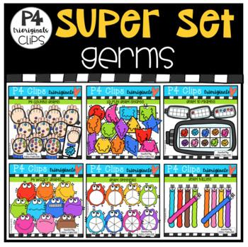 P4 SUPER SET Germs (P4 Clips Trioriginals)