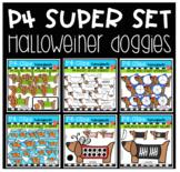 P4 SUPER SET Halloweiner Doggies (P4 Clips Trioriginals)