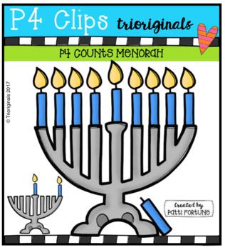 P4 SUPER SET Hanukkah (P4 Clips Trioriginals Clip Art)