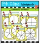 P4 SUPER SET Lemonade (P4 Clips Trioriginals Digital Clip Art)