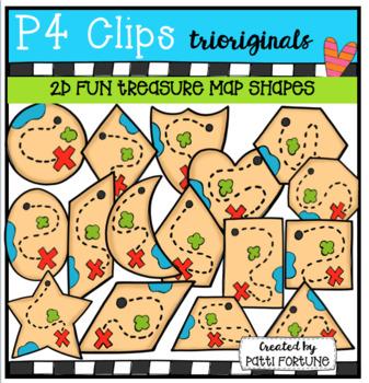 P4 SUPER SET Pirate Treasures (P4 Clips Trioriginals Clip Art)