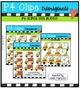 P4 SUPER SET School Buses (P4 Clips Trioriginals Digital C