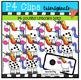 P4 SUPER SET Unicorns (P4 Clips Trioriginals Clip Art)