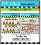 P4 SUPER SET Watermelons  (P4 Clips Trioriginals Digital Clip Art)