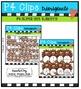 P4 SUPER SETS Turkey Time (P4 Clips Trioriginals Digital Clip Art)