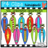 P4 TALL Christmas Ornaments (P4 Clips Trioriginals)