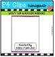 P4 TOP & BOTTOM Borders (P4 Clips Trioriginals Clip Art)