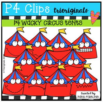 P4 WACKY Circus Tents (P4 Clips Trioriginals)