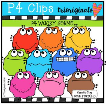 P4 WACKY Germs (P4 Clips Trioriginals)