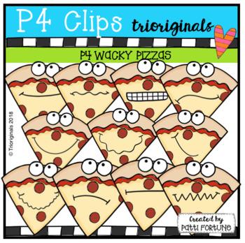 P4 WACKY Pizza (P4 Clips Trioriginals)