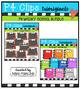 P4 WACKY School BUNDLE (P4 Clips Trioriginals Digital Clip Art)