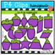 2D FUN Vegetables BUNDLE  (P4 Clips Trioriginals Clip Art)
