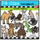 Animals BUNDLE (P4 Clips Trioriginals Clip Art)