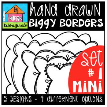 P4 BIGGY Border BUNDLE (P4 Clips Trioriginals)