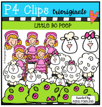 P4 Nursery Rhymes 2 BUNDLE (P4 Clips Trioriginals)