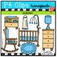 Parts of the House BUNDLE (P4 Clips Trioriginals Clip Art)