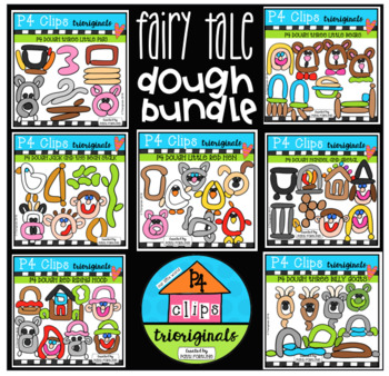 P4 DOUGH Fairy Tale BUNDLE (P4 Clips Trioriginals)