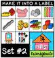 P4 WHILE I DRAW Make it into a LABEL (P4 Clips Trioriginals Clip Art)