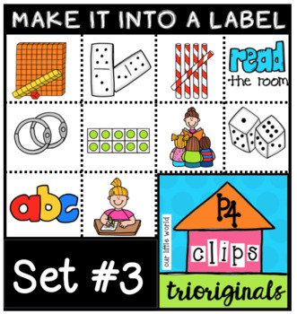 Make it into a Label BUNDLE (P4 Clips Trioriginals Clip Art)
