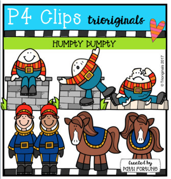 P4 WHILE I DRAW Nursery Rhyme BUNDLE (P4 Clips Trioriginals Clip Art)