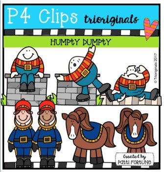 Nursery Rhyme BUNDLE (P4 Clips Trioriginals Clip Art)