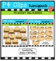 P4 WACKY BBQ Buddies Bundle {P4 Clips Trioriginals Digital Clip Art}