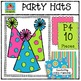 P410 Party Hats {P4 Clips Trioriginals Digital Clip Art}