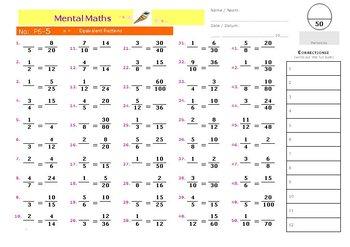 P6 Mental Math