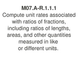 PA Common Core 7th Grade Math Standards