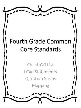 PA Common Core Question Stems