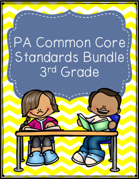 PA Common Core Standards Bundle - Third Grade