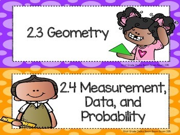 PA Core Math Standards and I Can Statements Grade  1