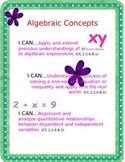 PA Core Standards Math Poster-Grade 6